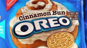 Oreo will release a new cinnamon bun flavor