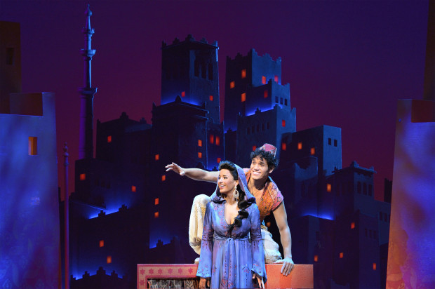 Theater Review Aladdin